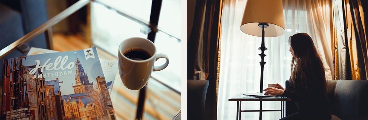 Amsterdam hotel portrait