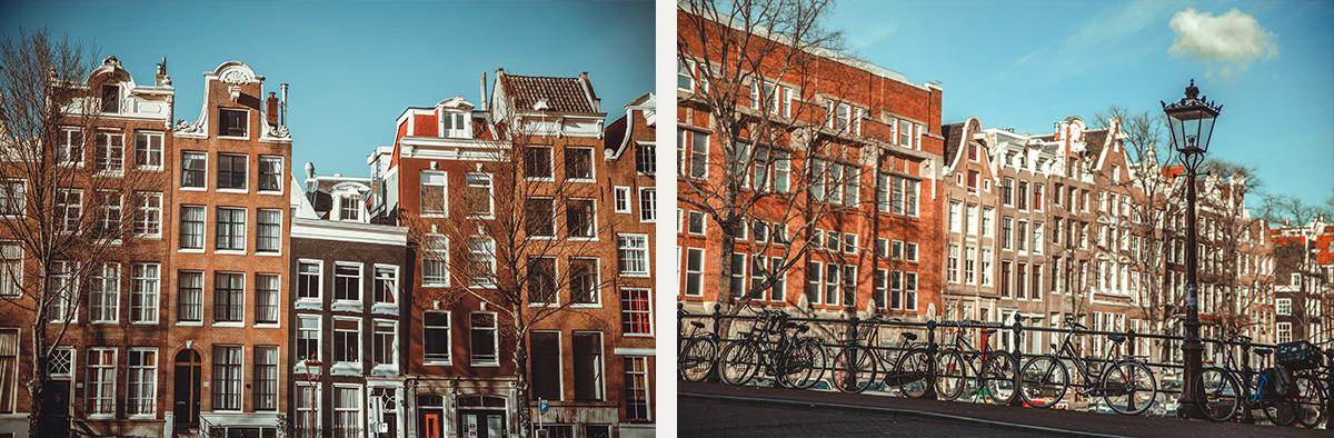 Street architecture Amsterdam