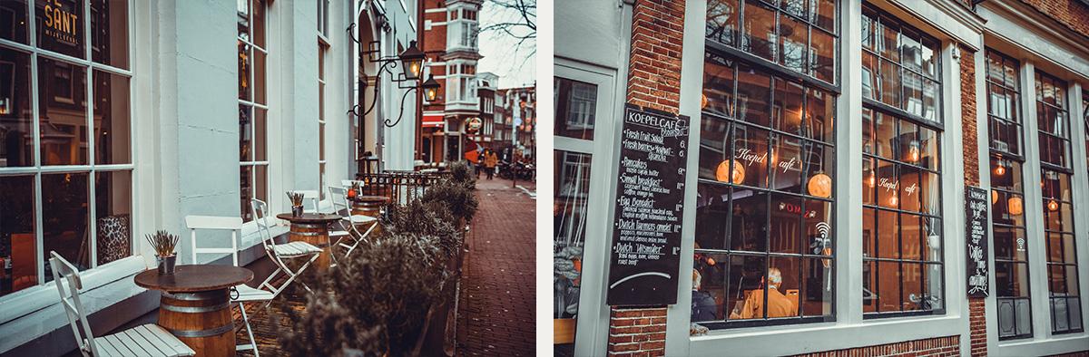 Restaurant street Amsterdam