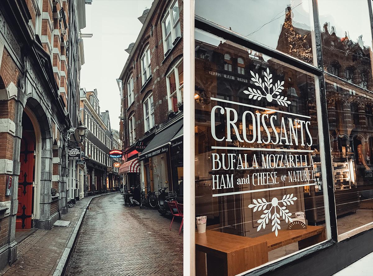 Street rain Amsterdam