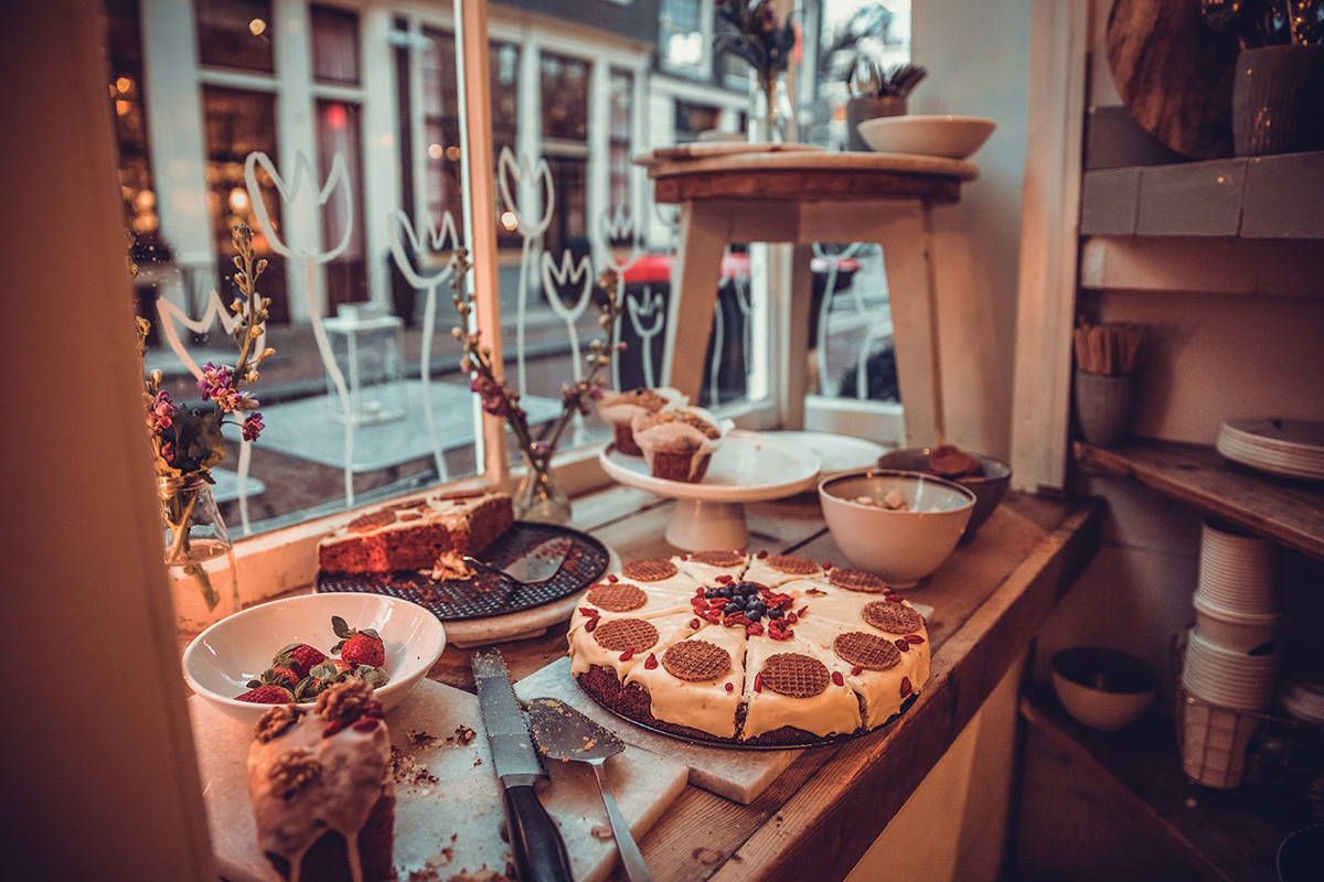 Pastry shop Amsterdam