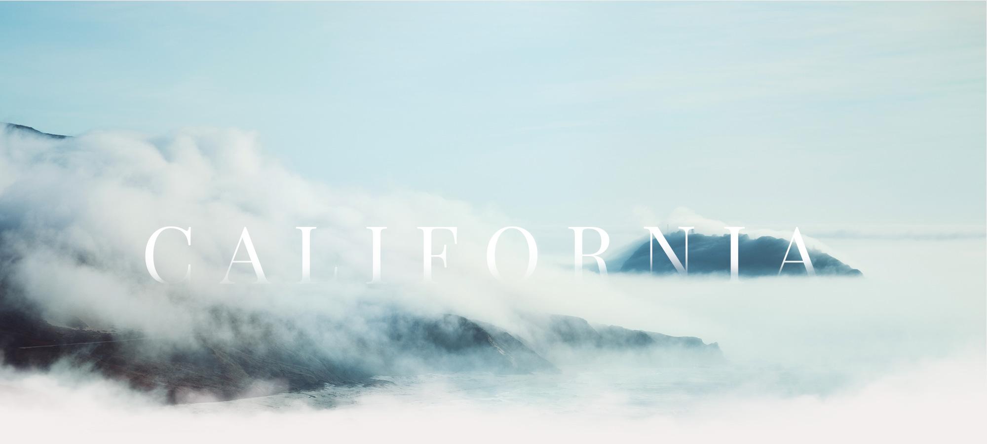 California mist big sur Raphaelle Monvoisin