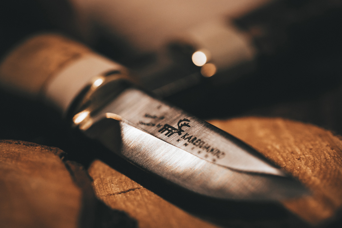 Karesuando Kniven handcraft knife close up