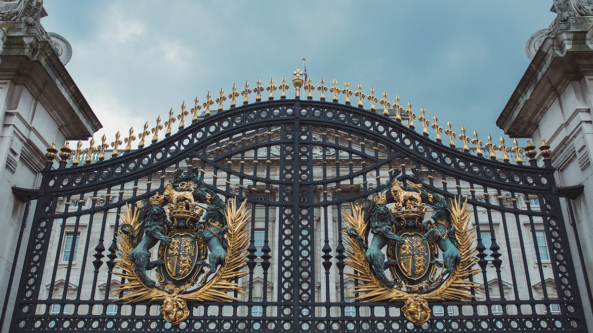 London Buckingham Palace Gate