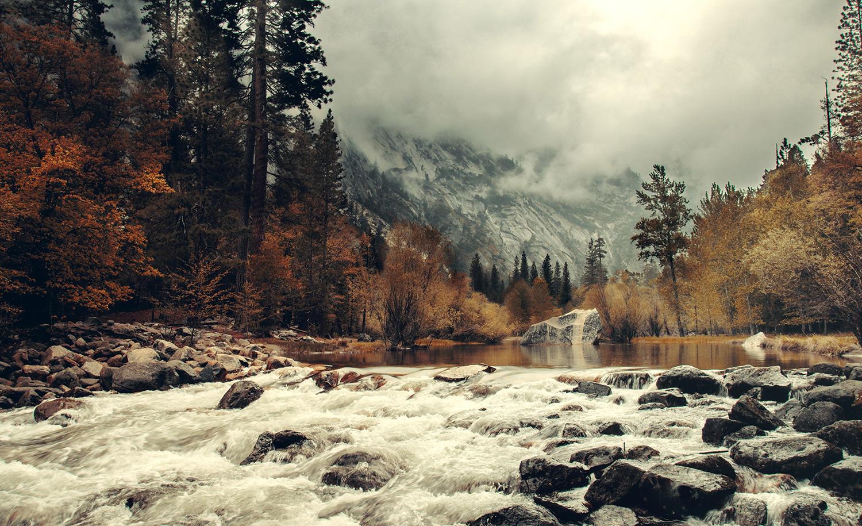 Raphaelle Monvoisin, Mirror River; Yosemite National Park