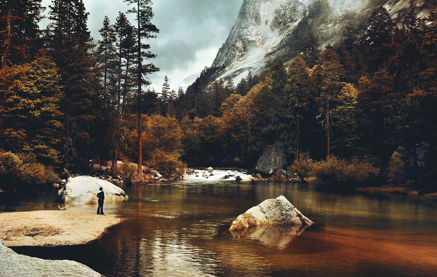 Raphaelle Monvoisin, the Mountains are Calling, Yosemite national park