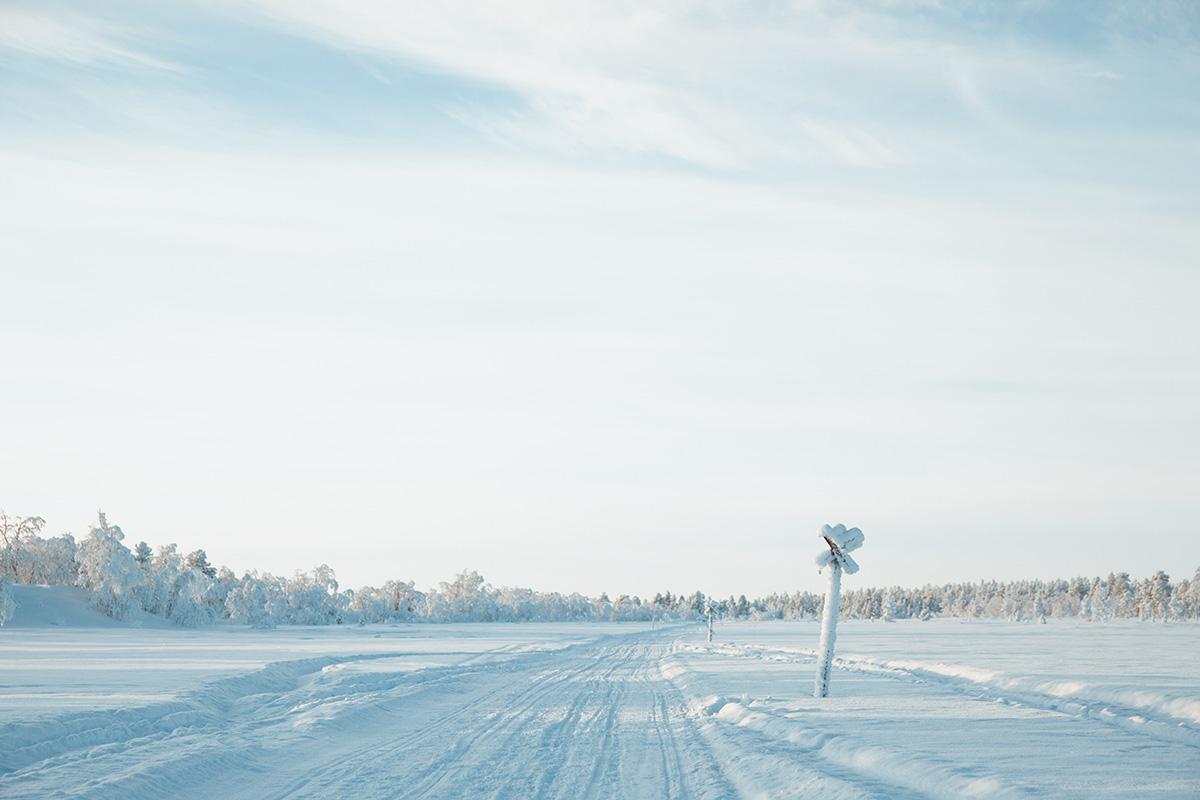 Hetta snow land Lapland Raphaelle Monvoisin