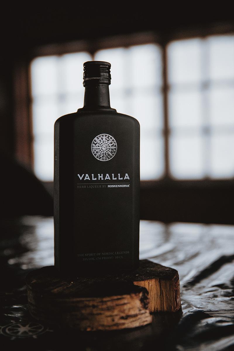 Lapland alcohol liquor Valhalla Raphaelle Monvoisin