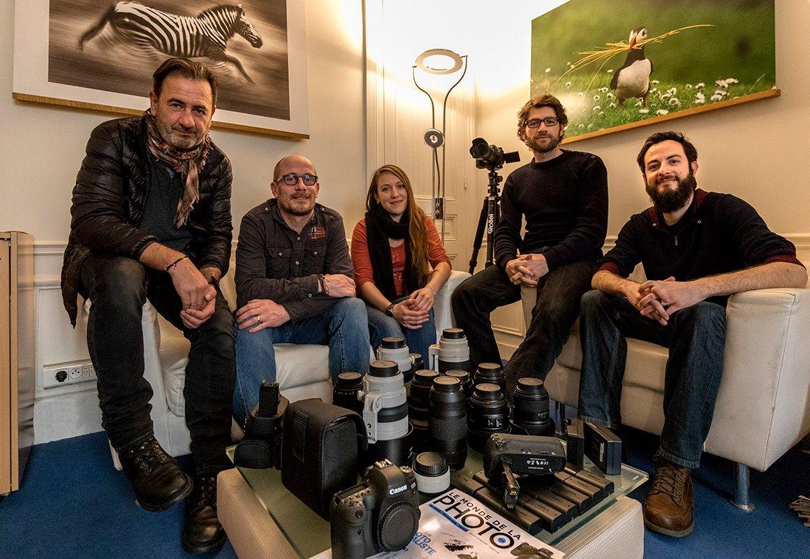 Lapland Le Monde de la Photo magazine team