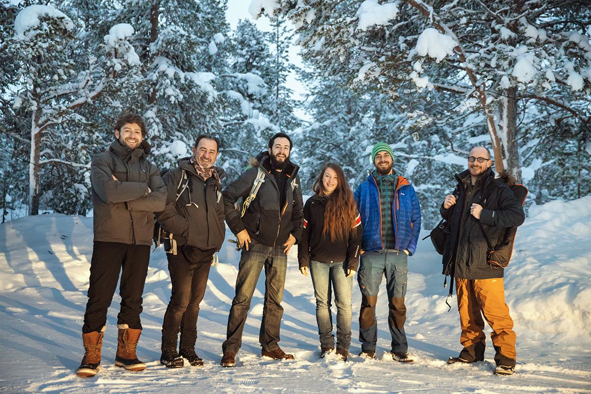LMDLP Le Monde de la Photo crew team Lapland Raphaelle Monvoisin