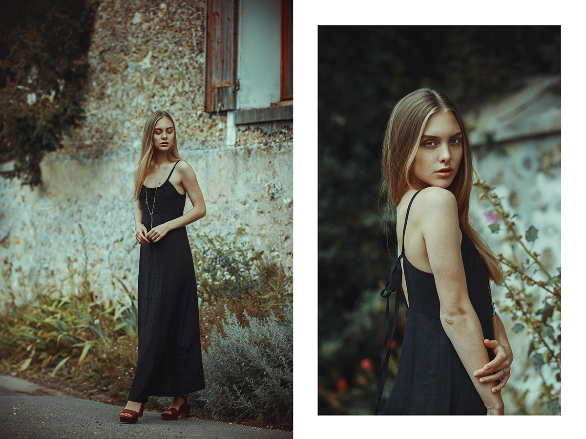 Voriagh, Memories Collection, inspired by Northern and Baltic folklore, handcrafted in Paris.Shooting in the Vallee de Chevreuse