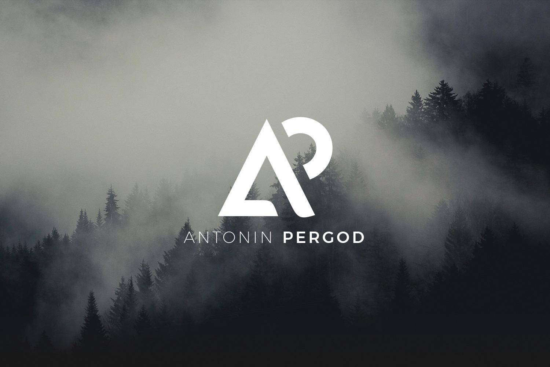 Logotype Antonin Pergod branding identity