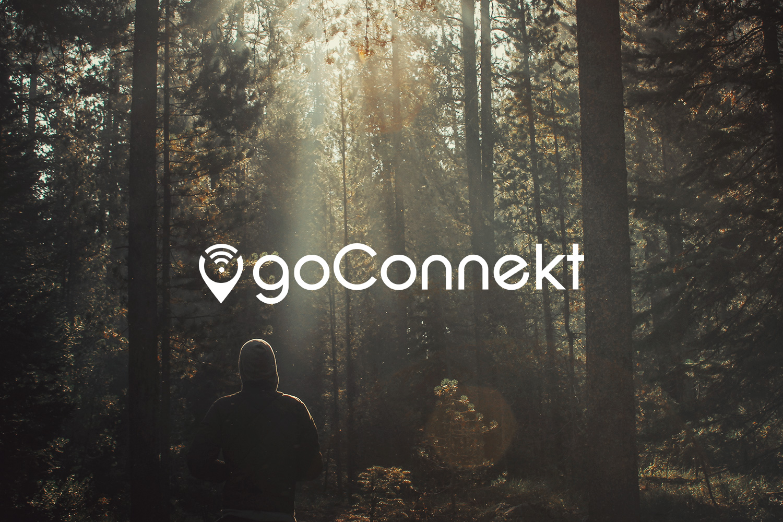 Logotype brand branding GoConnekt wifi remote