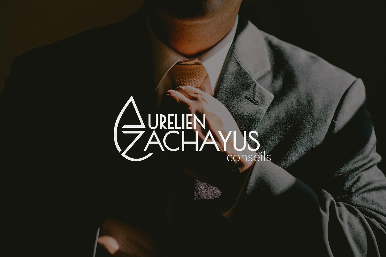 Logotype brand branding AZ conseil Aurélien Zachayus consultant business
