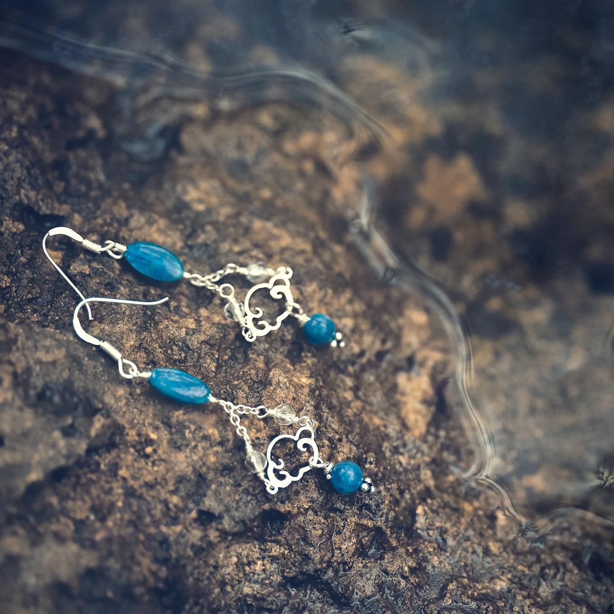Reflets de Lune, silver and fine stones jewelry