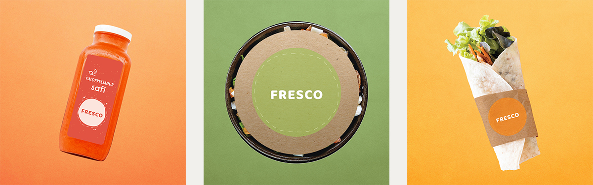 Fresco island salad food street fast fresh iceland