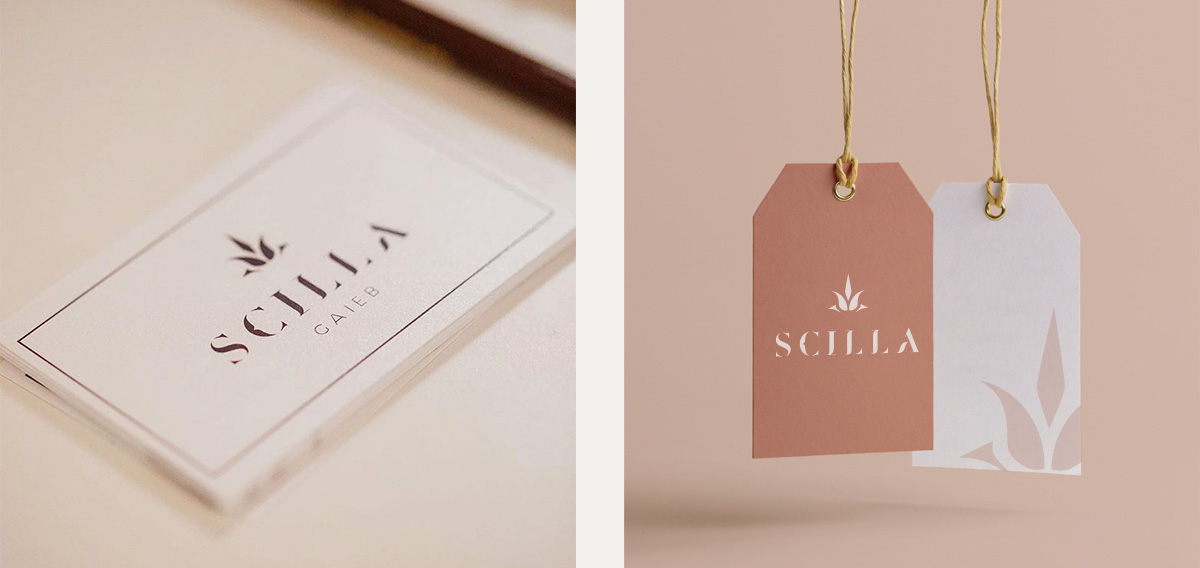 Scilla Gaieb cosmetic luxury beauty branding