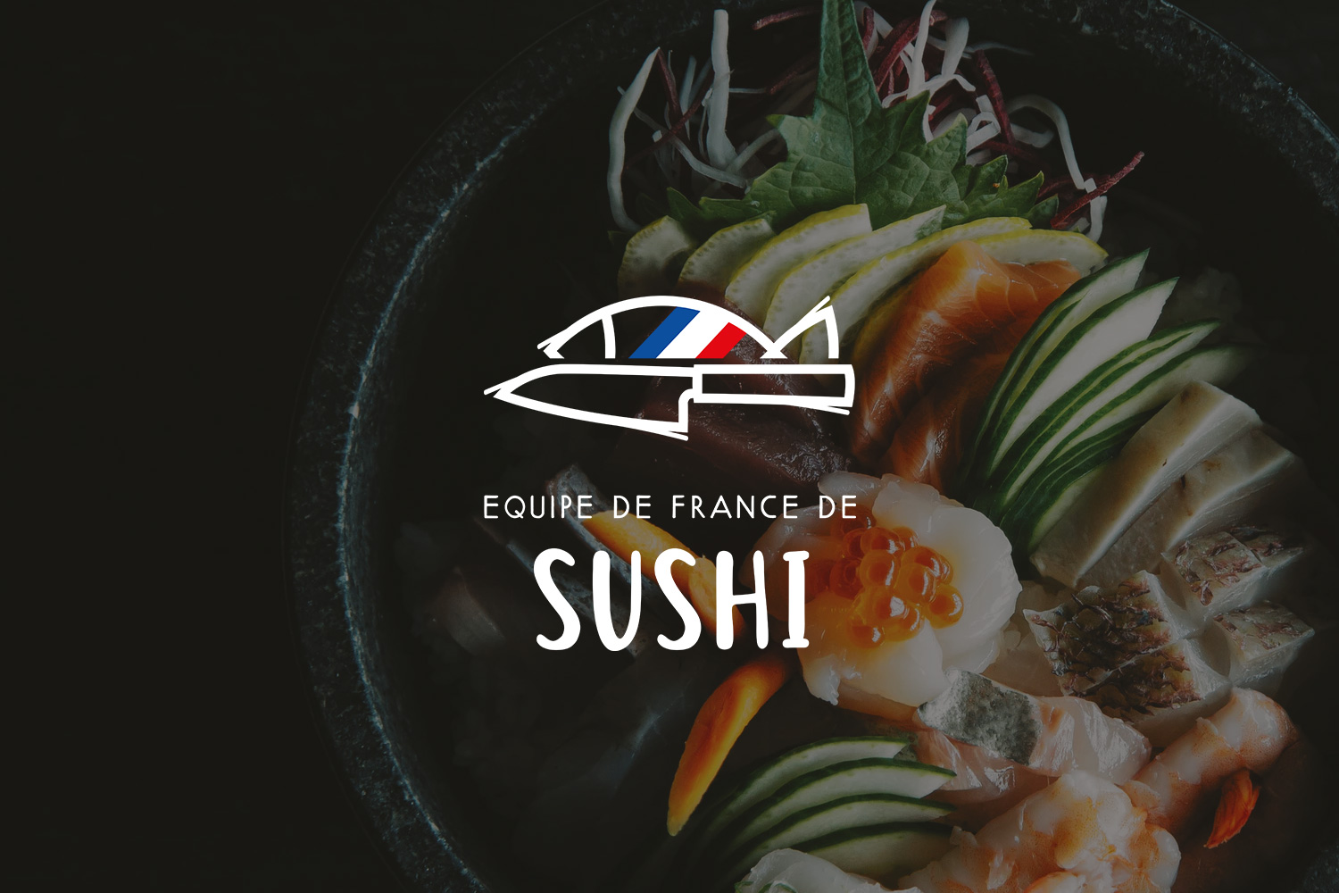 Equipe de France de Sushi japan food japanese chef sushiman cook fish french