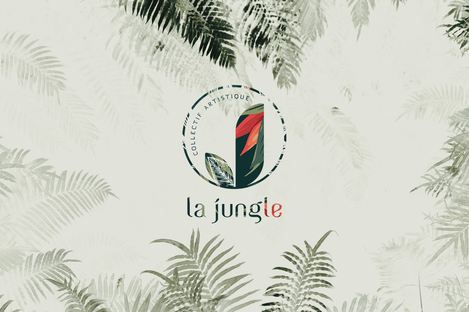 Logotype brand branding Jungle theater artistic theatre artists