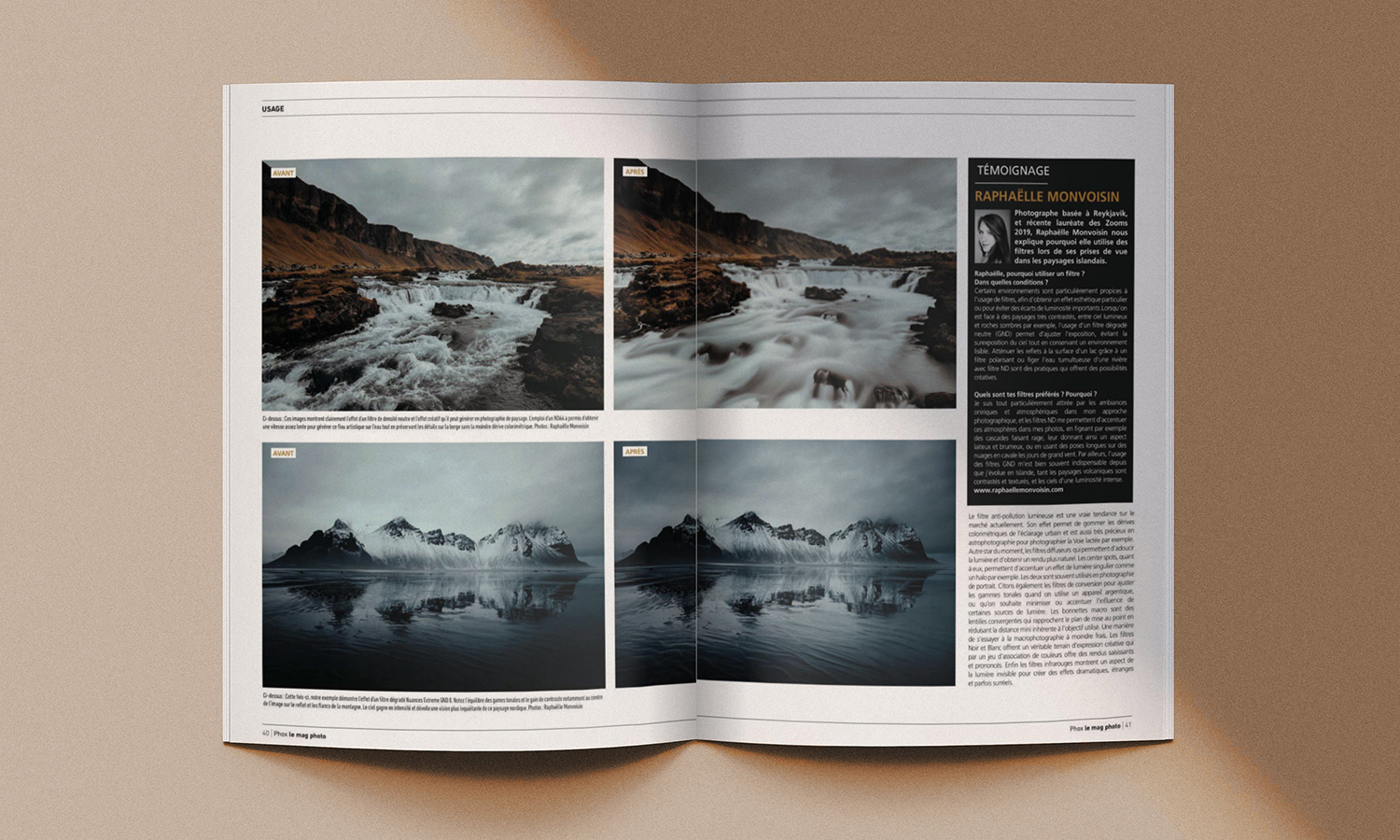 Cokin filters long exposure publication featured Phox photo