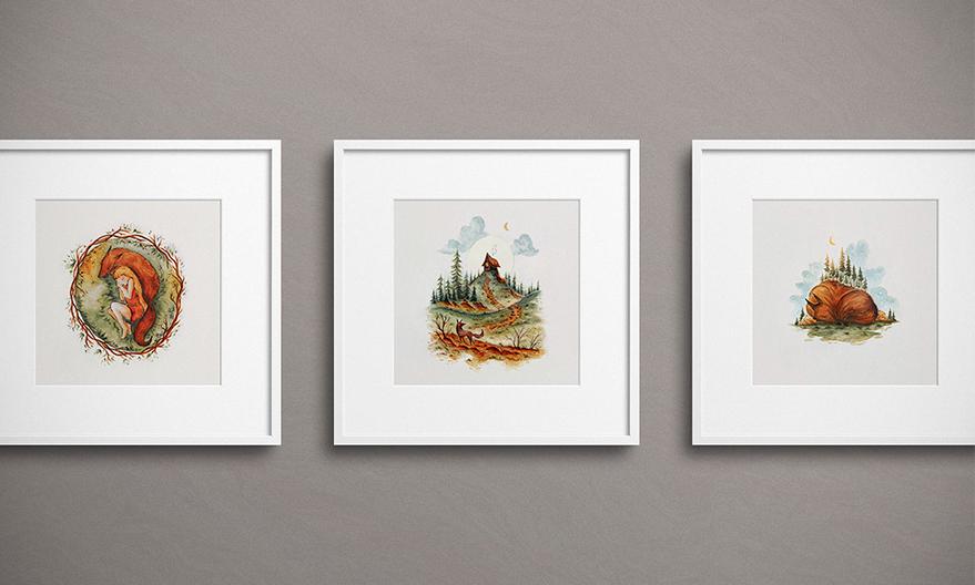 Raphaelle-Monvoisin_Illustrations-framed