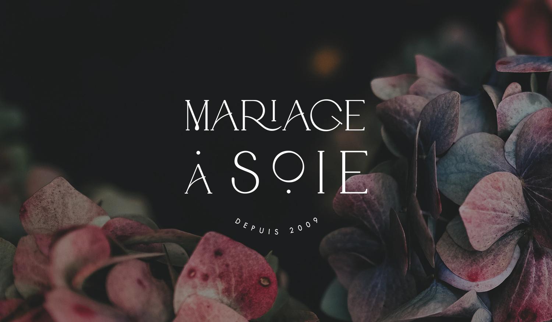 Mariage à Soie wedding planner logotype