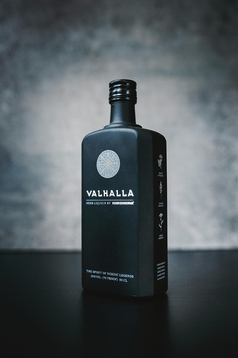 Raphaelle Monvoisin Valhalla herb liqueur liquor drink alcohol packshot product food still life photography